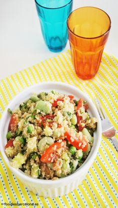 Ensalada multicolor de Quinoa