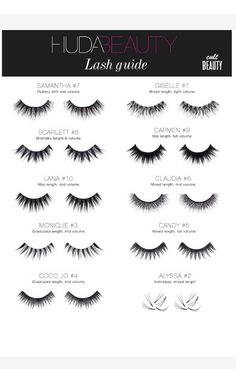Obsessed with Huda Beauty lashes! luxury beauty products - http://amzn.to/2hu7dbB