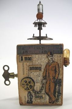 Stamps - Artistic Outpost Steampunk