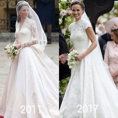 "2,110 Likes, 20 Comments - Kate Middleton (@catherine_mountbatten_windsor) on Instagram: ""Carole and Michael Middleton must be so proud,their daughters both were so stunning brides❤…"""