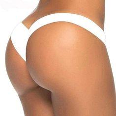 91289c47aab 2017 new hot sale black V shape sexy brazilian bikini bottom women swimwear  swimsuit trunk tanga micro briefs Panties Underwear