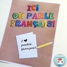 """Save time by checking out this list of French back-to-school resources with links to videos, free printables, and more! Ready for """"la rentrée scolaire""""? French Teaching Resources, Teaching French, School Resources, Spanish Activities, Teaching Spanish, How To Speak French, Learn French, Montessori Art, Montessori Elementary"""
