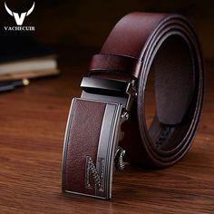 HuoGuo Famous Brand Mens Belts Luxury Pin Buckle Genuine Leather Handmade Belt Buckles For Men Masculino Four Colors