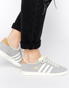 Agrandir Adidas Originals - Gazelle OG - Baskets - Gris uni