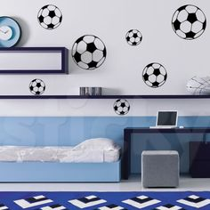 Wall Sticker SOCCER by Sticky!!!