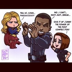"Lordmesa Art — ""Power Pout Girls""  @melissabenoist..."
