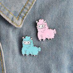 A0005 Cartoon Animal Sheep Enamel Icons Collar Lapel Pin Brooch Jewelr – Fashion Secret Shop