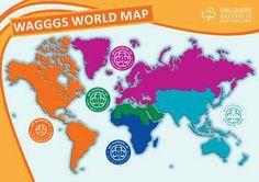 WAGGGS World Map