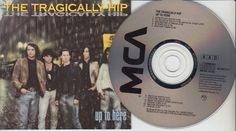 THE TRAGICALLY HIP Up To Here (CD 1989) 11 Songs Canada Rock Band FREE SHIPPING