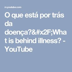 O que está por trás da doença?/What is behind illness? - YouTube Sri Prem Baba, Youtube, Youtubers, Youtube Movies
