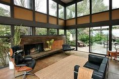 """This room in particular (from a house by Roger Lee in El Cerrito, California).  From the SFGate blog On the Block, """"Mid-Century Modern Listings:  flavor of the moment"""" (3/5/12)."""