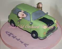 Mr Bean's Car cake