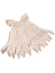Celestial Christening Gown Crochet Pattern