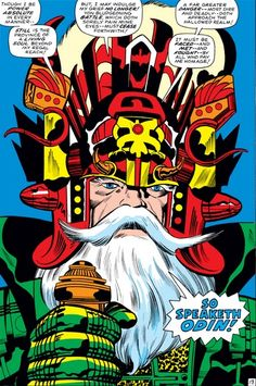 The Mighty Thor #153 - Odin, in one of his many costume changes