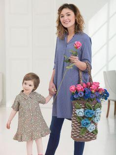 Mother's Day Crochet Bag