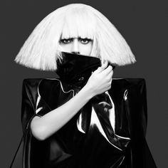 I love Gaga because she has made being different okay, and done away with the dull norm.