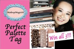 ★Perfect Palette Tag + GIVEAWAY ALL 3 Naked Palettes ★