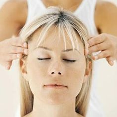 Natural cures for migraines - peppermint, lavender and basil oil massaged into forehead/temple area.