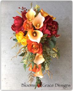 Vivivalue Flower Wreath Headband Crown Floral Garland Boho for Festival Wedding Pink - Ideal Wedding Ideas Orange Wedding Flowers, Beach Wedding Flowers, Fall Flowers, Pink Flowers, Orange Wedding Dresses, Purple Wedding, Wedding Colors, Fall Bouquets, Fall Wedding Bouquets