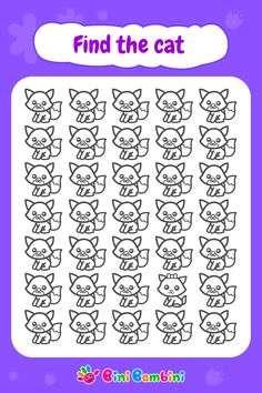 Did you manage to find a cat? Learn while playing with Bini Bambini! #binibambini #education #learning #attention # focus # memory #games #apps #happykids #funnychildren #toddler #preschool #kindergarten