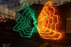 Christmas Butterfly Live For Yourself, Vienna, Christmas Lights, Dreaming Of You, Butterfly, Neon Signs, World, Travel, Christmas Rope Lights