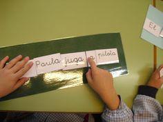 RACONS DE LECTO-ESCRIPTURA A 1r. Formar frases amb paraules.
