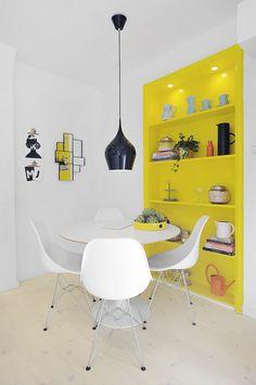 Atrevidos toques de amarillo - Estilo nórdico | Blog decoración | Muebles diseño | Interiores | Recetas - Delikatissen