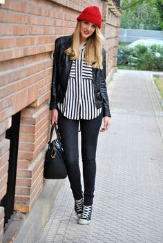 Easy Blouse and Sneaker Style