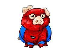 Spider pig spider pig .