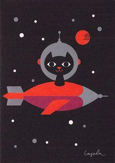 Inglea P Arrhenius' Space Cat