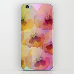 Buy Pastel Pansies iPhone & iPod Skin by thea walstra. Worldwide shipping available at Society6.com. Just one of millions of high quality products available.
