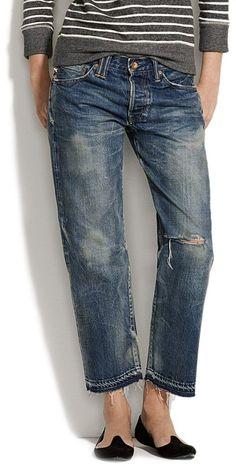 Chimala® denim ankle pants....yeah they're $455, go figure.