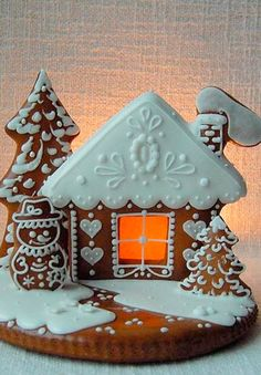 Peberkage hus (Gingerbread houses)