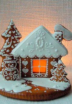 Peberkage hus (Gingerbread houses)