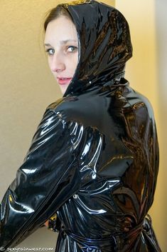 Our girls – www. Vinyl Raincoat, Pvc Raincoat, Plastic Raincoat, Rain Bonnet, Unisex, Rain Wear, Fashion Heels, Our Girl, Feminine