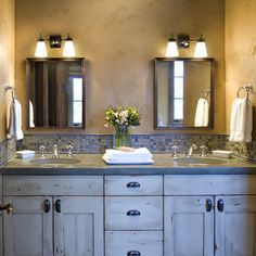 Bathroom Mixed Finishes Design, Pictures, Remodel, Decor and Ideas - page 2