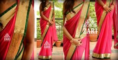 Love the pink, green, and gold ! Designed by Anju Shankar.