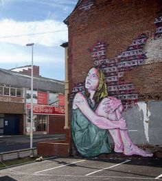 Les superbes créations de Street Art raffiné qui envahit l'Europe