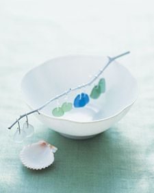 Sea glass, the ocean's most overlooked treasure, can be used to make anything from a pair of earrings to a dazzling seaside-inspired tabletop.
