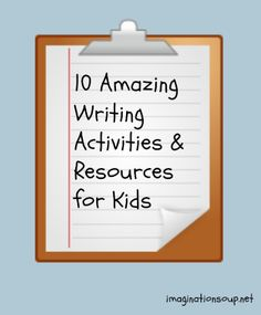 stop the summer slide with these 10 writing activities & links for kids