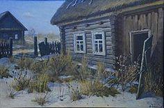 Віктар Шматаў «У Чарнобыльскай зоне», 1990 год.