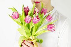 Wiosenny bukiet z tulipanów