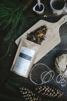 Northern Twilight Organic Handcrafted Tea   Assam Black Tea   BLACK FRIDAY FREE Shipping   Winterwoods Loose Leaf