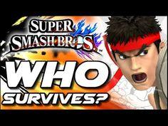 Super Smash Bros WHO CAN SURVIVE Ryu's Shoryuken in Lava Trap? (Wii U) - YouTube