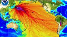 Right now, a massive amount of highly radioactive water is escaping into the Pacific Ocean from the ruins of the destroyed Fukushima nuclear facility in Japan. This has been going on all day, every day for more than two years. The enormous amounts of tritium, cesium and strontium that are being released are being