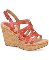 b.o.c Nilsa Platform Wedge Sandals