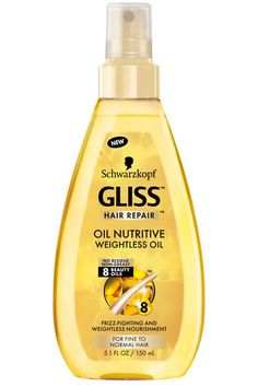 For Tight Tresses: Schwarzkopf Gliss Hair Repair Oil Nutritive Weightless Oil - Curly Cues: The Best Products For Your Texture Hair Hacks, Hair Tips, Hair Repair, Animal Tattoos, Shampoo And Conditioner, Design Quotes, Celebrity Weddings, Curly Hair Styles, Hair Care