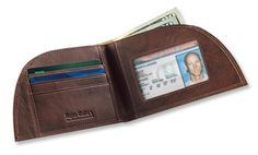 Leather Front-Pocket Wallet
