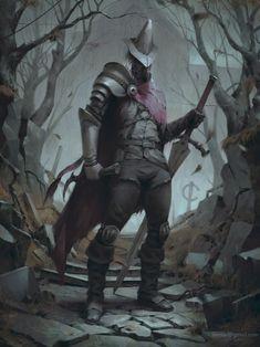 Dark Souls Abyss Watcher, by Alexander Borodin Dark Souls 3, Arte Dark Souls, Fantasy Art Men, Fantasy Armor, Fantasy Character Design, Character Art, Soul Saga, Bloodborne Art, Fantasy Art