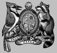 Regular Shirt (a Regular Show inspired design) by Kari Fry.